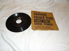 Vintage Eddie Fisher Coke Time souvenir record