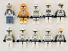 LEGO Star Wars Minifigures Clone Wars Lot of 10x Clone Troopers Army Builder #3