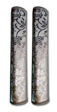 AJ Creations™ Silver Color  Fridge / Refrigerator Handle Cover (1 Pair)
