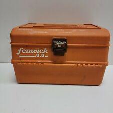 Fenwick Model 3.5 Fishing Tackle Box - Folding 5 TRAY w/Dividers - ZERUST