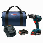 Bosch 18V 2.0 Ah 1/2 in. Hammer Drill Kit HDS181A-02 Certified Refurbished photo