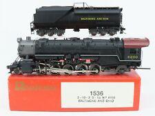 HO Scale Rivarossi 1536 B&O Baltimore Ohio 2-10-2 Steam Locomotive
