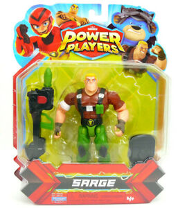 Playmates Toys ZAG Heroez Power Players SARGE Action Figure-BRAND NEW