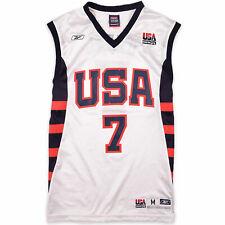 Reebok Herren Trikot Jersey Gr.M USA Vereinigte Staaten #7 J. O'Neal 103856