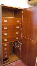 gentlemans travel wardrobe, in need of restoration, solid, original