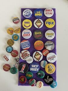 Old Bmx Badge Collection