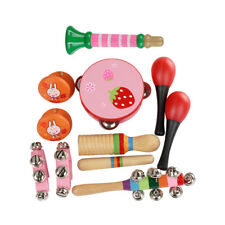 11pcs Orff Musical Toys Sets Band Rhythm Kits Children's Percussion Instruments