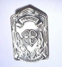 VINTAGE HOME IMPROVEMENT LEAF CLOVER SEARS ROEBUCK STERLING SILVER 925 PIN LAPEL