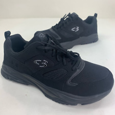 Concept 3 By Skechers Mens Eakins Sneakers Shoes Black 244002W Lace Up 12M New