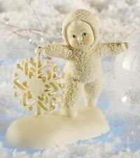 Dept 56 Snowbabies What A Flake Spinner Figurine Ornament 12cm 811836 New