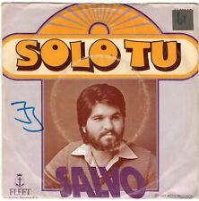 "Salvo - Solo tu (single 7"")"