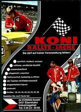 Koni rallye-veste 1971 prospectus (brochure)