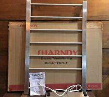 Sharndy Portable Electric Towel Warmer Heated Towel Drying Rack Home Bathroom