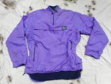 ORIGINAL BUFFALO D P fleece & pertex MOUNTAIN SHIRT JACKET TOP 46 L - XL PURPLE