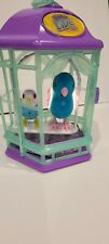 Little live pets  cage with  bird