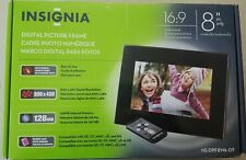 INSISGNIA NS-DPF8WA-09 Wide format Widescreen Digital Photo Frame 8