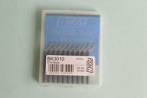 50pcs BK3010 Blades for NOGA NB1000 NB1100 Deburring Tool
