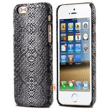 Snake Skin Leather Case Protect Back Hard Cover For iPhone X Xr Xs Max 8 7 Plus
