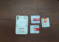 Genuine Sony  BC-TRN Battery Charger, NP-BG1 NP-FG1 Batteries