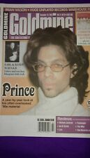 "PRINCE cover and article ""Goldmine"" magazine Dec 2001 from personal collection"