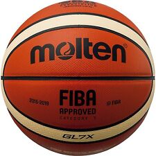 Molten BGL7X Leather Basketball, Official Basketball of FIBA from Japan