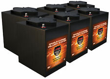 QTY 6 OF 6Volt Golf Cart 6 Volt Maint Free AGM Batteries,Trojan T105 Replacement
