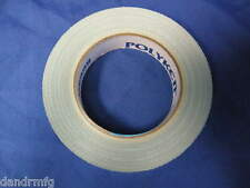 """NEW POLYKEN 105C 1"""" x 36yd MULTI PURPOSE DOUBLE SIDED CARPET TAPE MADE IN USA"""