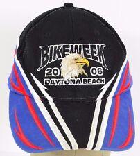 Black Bike Week 2006 Daytona Beach 65th embroidered baseball hat cap adjustable