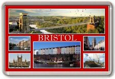 FRIDGE MAGNET - BRISTOL - Large - Avon Somerset TOURIST