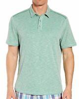 Tommy Bahama Men's Short Sleeve Flip Tide Spectator Polo Shirt Green Finch XL