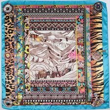 lady's 50% silks 50% satins 90cm*90cm Potala Palace square scarf   #106