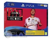 PS4 Slim 1Tb Negra Playstation 4 Consola + FIFA 20