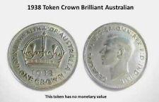 1938 Token Crown Brilliant Australian