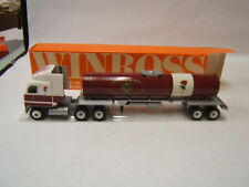Winross City of Lancaster PA Bureau of Fire Tanker Mack Ultraliner Red Rose VGC