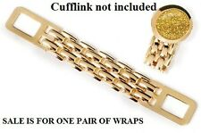 New Gold Cufflinks Wrap Add this to any cuff link for a new look! FREE SHIPPING