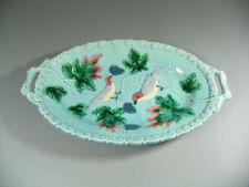 Schale Keramik Majolika wohl Schramberg Motiv Vögel