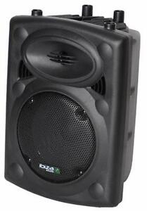 Lautsprecher SLK8A BT Ibiza Aktiv Elektro Sound Box 300 Watt MP3 USB schwarz