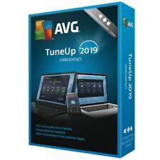 AVG TuneUp - Unbegrenzt 2019 2 Jahre * PC Unlimited * Deutsche Lizenz auch 2018