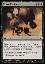 MTG 4x GRAVE EXCHANGE - SCAMBIO DI TOMBE - AVR - MAGIC