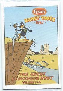 TYSON LOONEY TUNES MINI GIVEAWAY PROMO 4 DAFFY DUCK ROAD RUNNER SCAVENGER HUNT
