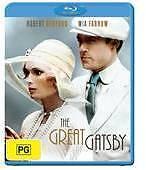 THE GREAT GATSBY, 1974 - BRAND NEW & SEALED BLU RAY (ROBERT REDFORD, MIA FARROW)
