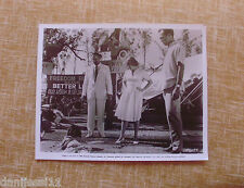 """MARLON BRANDO in the film """"Ugly American"""", Universal Pictures, 8x10 inches Still"""