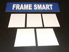 Frame Smart pack of 10 White backing board - all sizes (in inches)