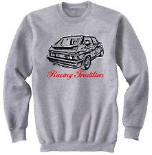 Fiat Ritmo Abarth 130 TC Strada-NEUF Coton Gris Sweat-shirt toutes tailles en stock