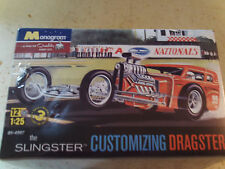 Monogram Slingster Customizing Dragster Model Car Kit 1/25
