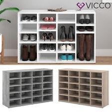 VICCO Schuhschrank LYSANDER Schuhständer Schuhablage Flur Diele in 3 Farben