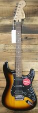 Squier by Fender Affinity Strat HSS Electric Guitar - Brown Sunburst NEW
