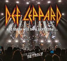 DEF LEPPARD AND THERE WILL BE A NEXT TIME 2CD & DVD SET (Released 10/2/2017)
