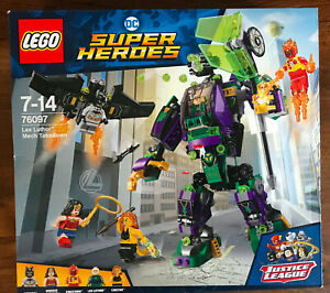 BOITE SET LEGO 76097 DC COMICS MARVEL SUPER HEROES LEX LUTHOR MECH TAKEDOWN
