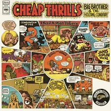 BIG BROTHER AND THE HOLDING COMPANY CHEAP THRILLS LP VINYL 33RPM NEW